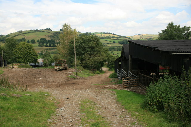 Offa's Dyke Path at Lower Spoad