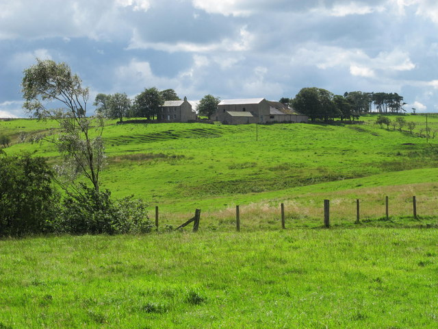 Farmland northeast of The Paise