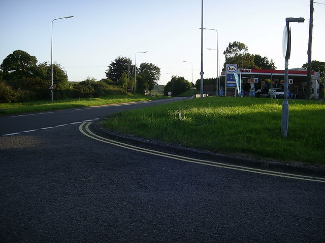 Esso Petrol Station near St Clears