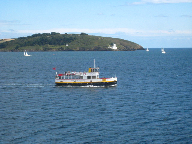 The entrance to Carrick Roads