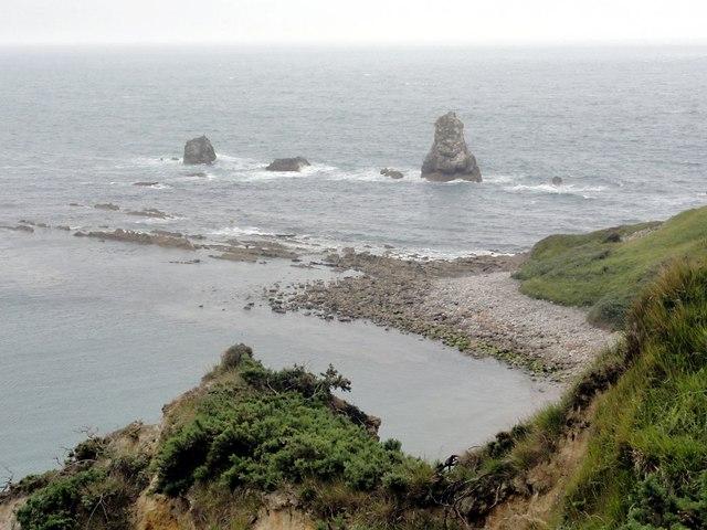 Mupe Ledges and Mupe Rocks