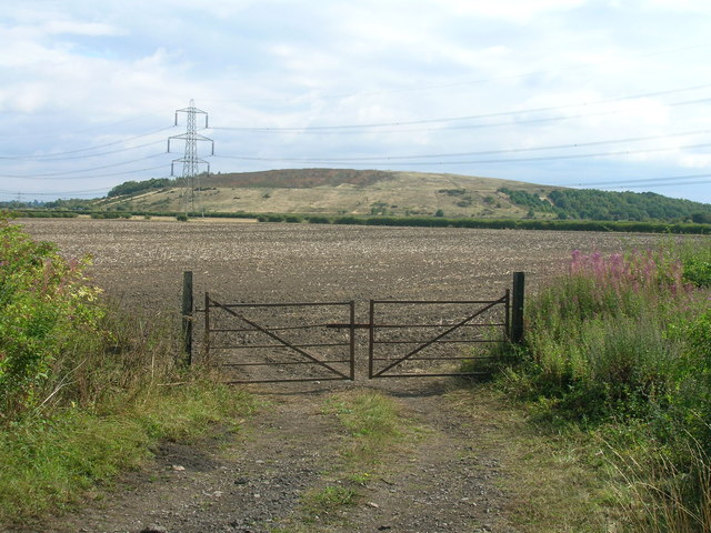 Field entrance off Carr Bank