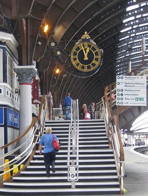 The station clock, York