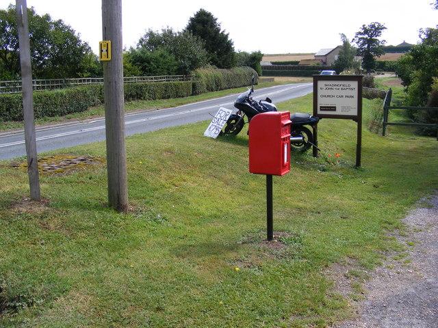 A145 London Road & London Road Postbox