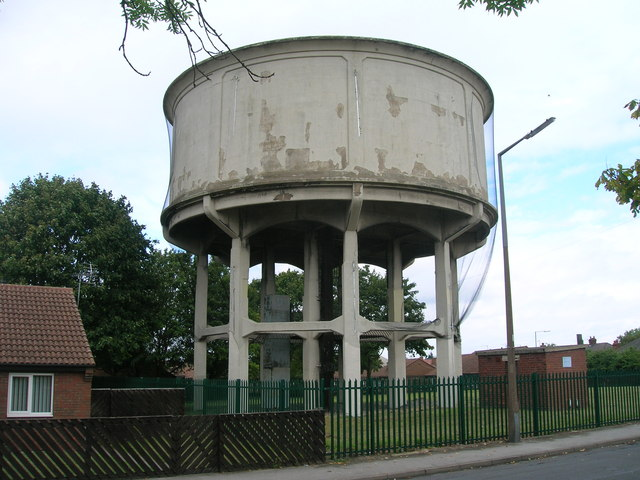 Water tower, New Rossington