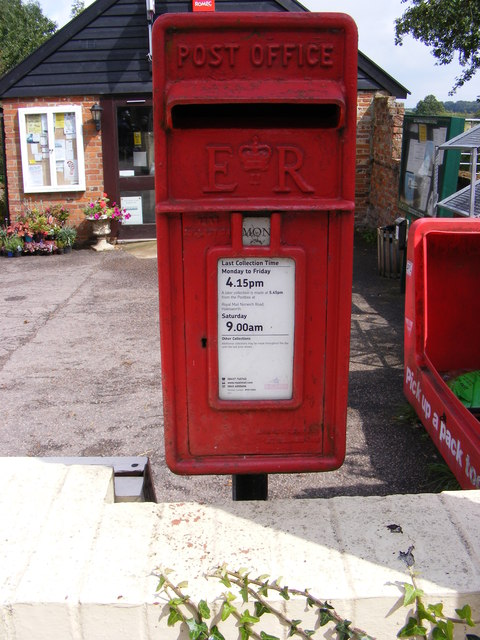 Chapel Road Post Office Postbox