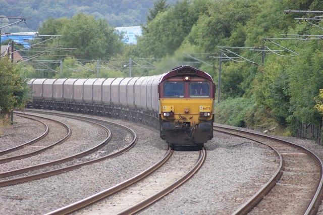 Freight Train Approaching Northfield