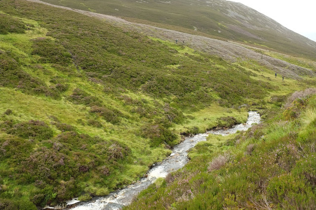 Lower slope of Creag Bhreac