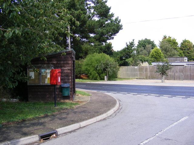 Highfield & Highfields Postbox