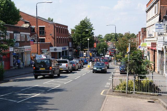 Central Road, Worcester Park