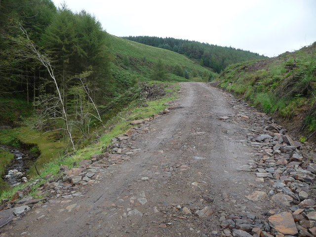 Part of the Coed Morgannwg Way in Afan Forest Park