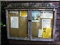 TM4575 : Blythburgh Village Notice Board by Adrian Cable