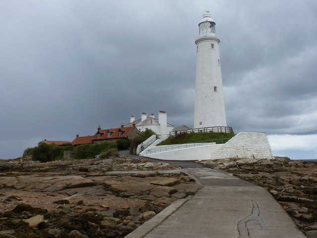 Whitley Bay: St. Mary's Island