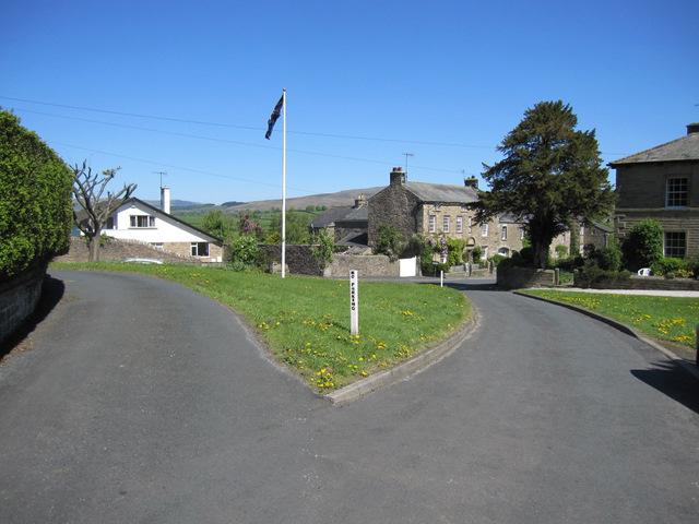 View towards High Street, Burton in Lonsdale