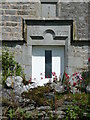 SD7962 : Doorway, Farther Rome, Giggleswick by Humphrey Bolton