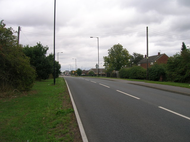Hurst Lane towards Auckley
