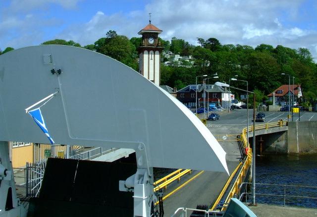Loading ramp at Wemyss Bay pier