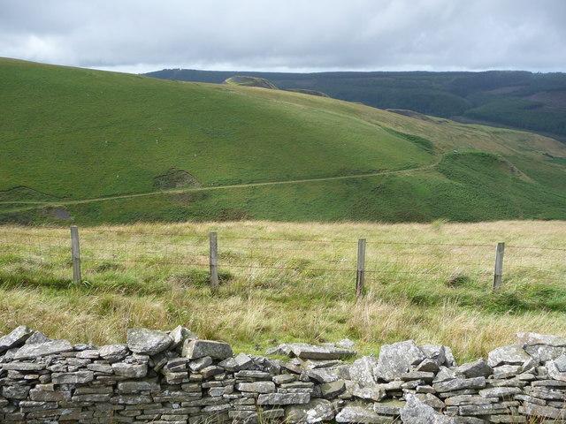 Hillside above the Nant Tryfal