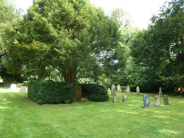 St James, Woodmancott- churchyard