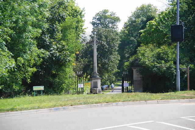 An entrance to Nonsuch Park