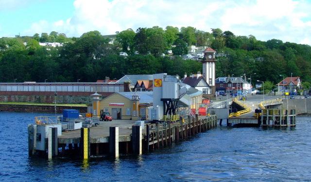 Wemyss Bay railway station and Pier