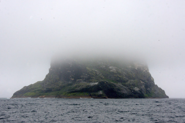 Stac an Armin from the north-east coast of Boreray, St Kilda