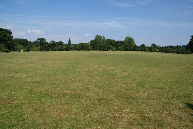 Sports field in Nonsuch Park