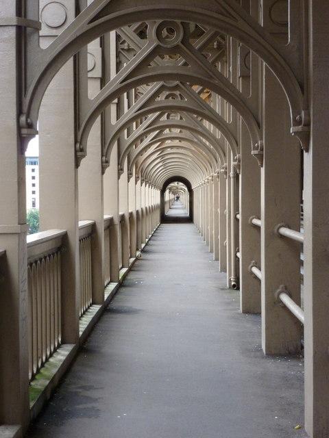 Newcastle upon Tyne: footway over High Level Bridge