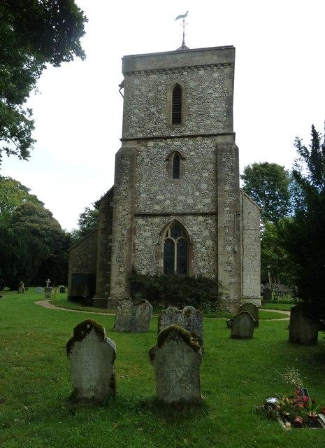 St Mary's Church, Herriard- tower