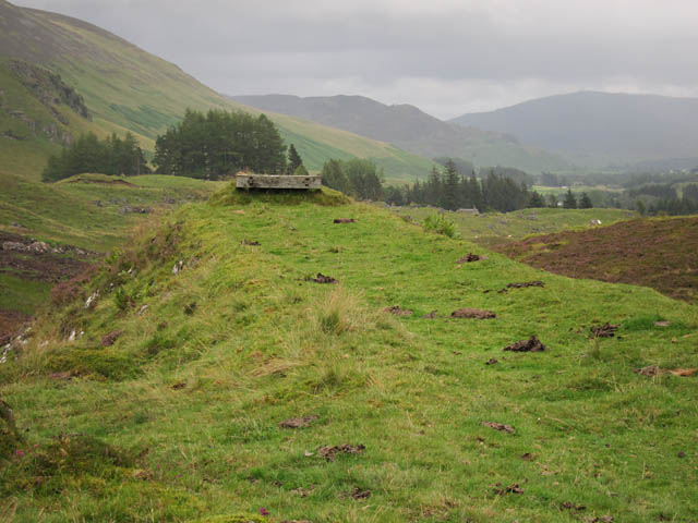 Buffer on old railway line