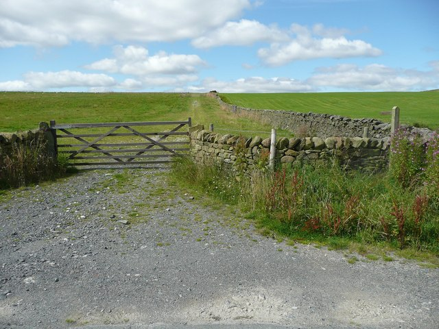 Footpath off Paley Lane, Giggleswick
