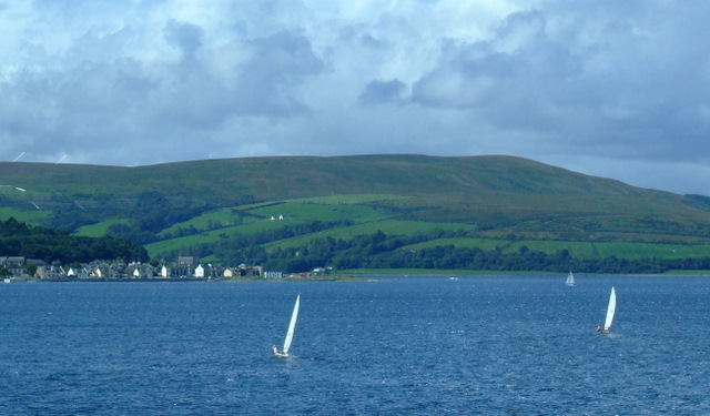 Port Bannatyne from Rothesay Bay