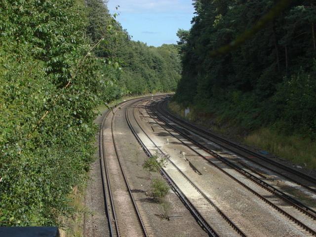 The Waterloo to Southampton line