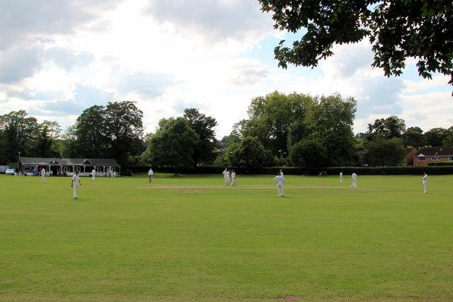 Cricket Match, Marlow, Buckinghamshire