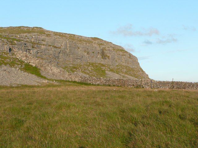 The western end of Moughton Scar, Austwick