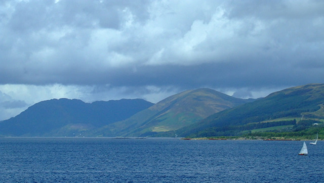 Ardyne Point from Rothesay Bay