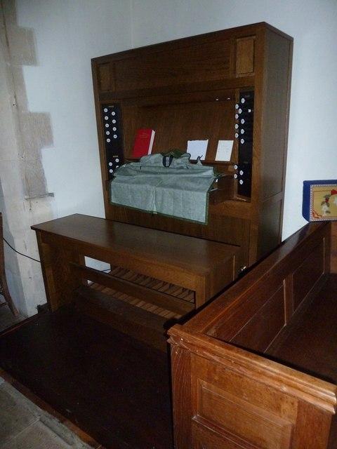 St Martin, Ellisfield: organ