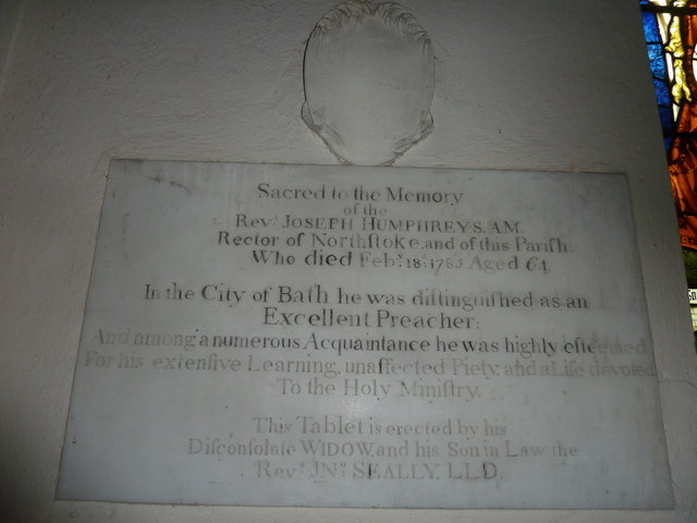 St Martin, Ellisfield: memorial