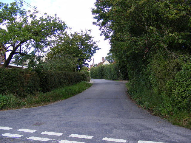 Mill Lane, Brandeston