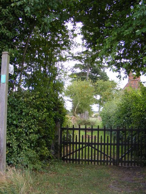 Footpath to Mutton Lane