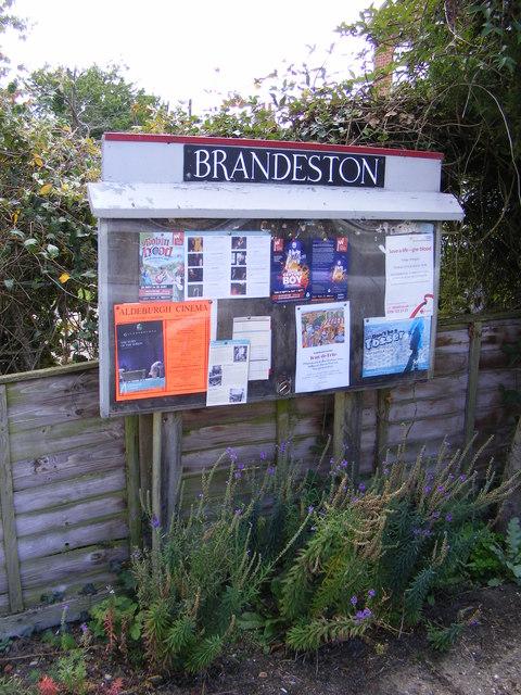 Brandeston Village Notice Board