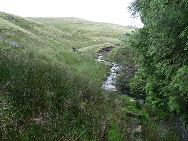 Part of the Nant Pennig