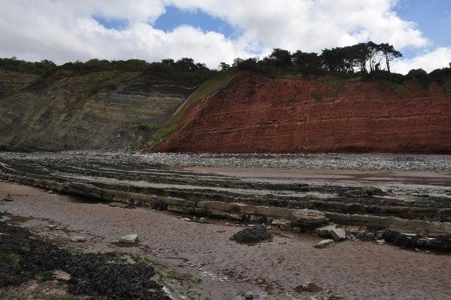 West Somerset : Cliffs & Sand