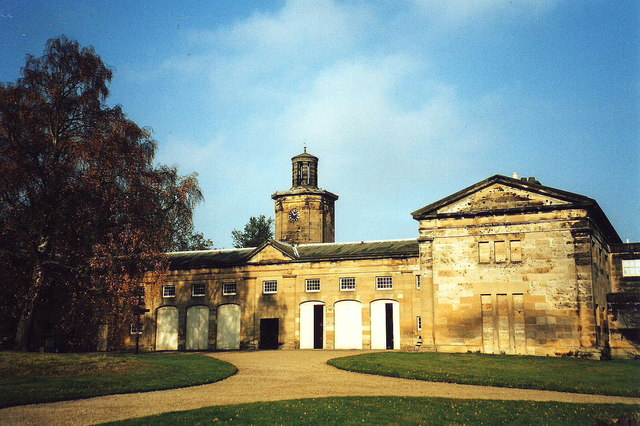 The stables, Belsay Hall, Northumbria