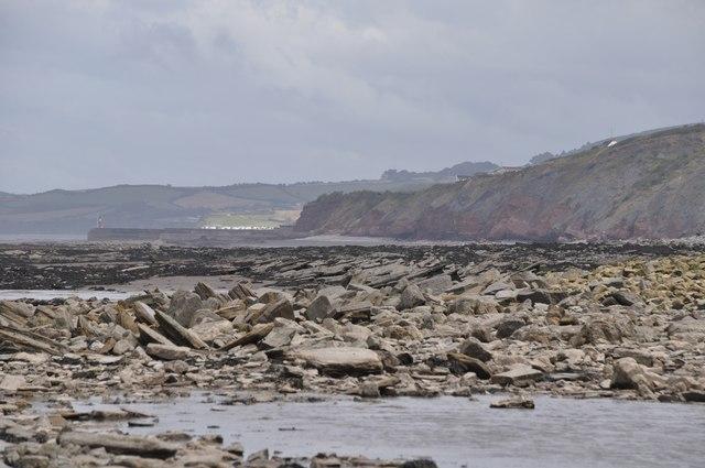 West Somerset : Rocky Coastline