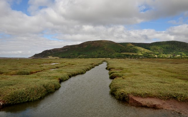 West Somerset : Porlock Salt Marsh