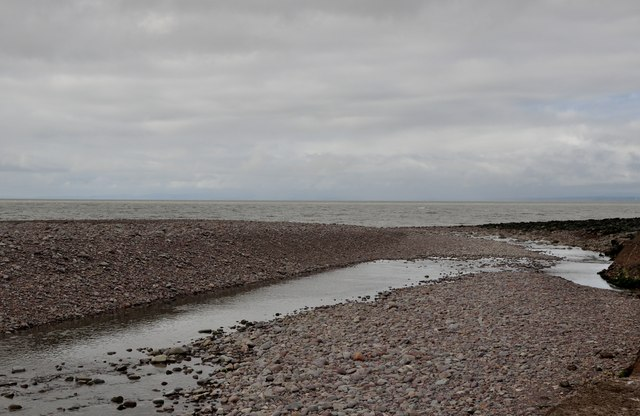 West Somerset : Porlock Beach & Stream