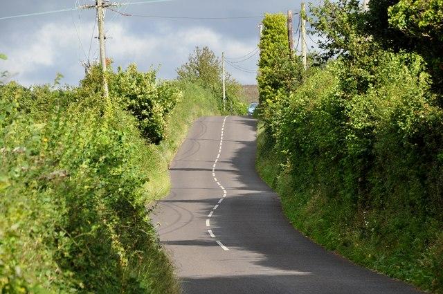 West Somerset : Dunster Steep B3225