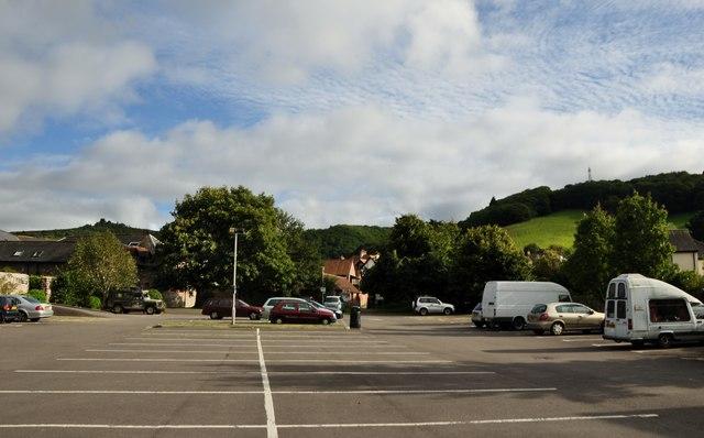 Porlock : Car Park