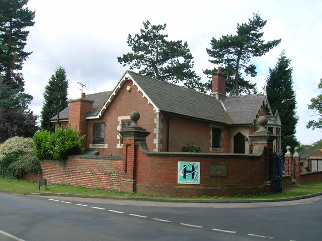 North Lodge (entrance to Hesley School)